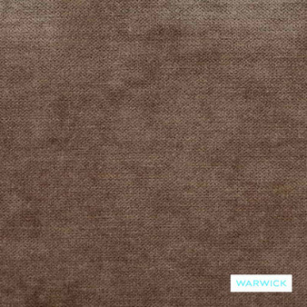 Warwick - Victory Taupe  | Upholstery Fabric - Brown, Tan, Taupe, Railroaded, Velvets, Plain, Standard Width