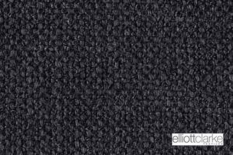 Elliott Clarke - Barclay - Coal  | Curtain & Upholstery fabric - Plain, Black - Charcoal, Synthetic, Washable, Commercial Use, Textured Weave, Plain - Textured Weave