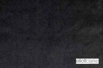 Elliott Clarke - Brugge - Carbon    Curtain & Upholstery fabric - Fire Retardant, Plain, Black - Charcoal, Synthetic, Commercial Use, Dry Clean, Standard Width