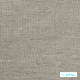 Warwick Wilde Fitzgerald Pewter  | Curtain Fabric - Washable, Tan, Taupe, Traditional, Plain, Standard Width