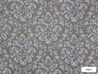 Ardecora - Foro - 15382.194    Curtain Fabric - Brown, Grey, Damask, Fibre Blends, Domestic Use, Standard Width