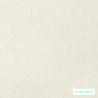Warwick Wilde Rice  | Curtain Fabric - Linen/Linen Look, Washable, Whites, Natural, Plain, Standard Width
