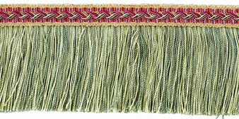 Houles - 33110 Marly Cutfringe 65mm - 9730  | Fringe, Curtain & Upholstery Trim - Deco, Decorative, Fibre Blends, Washable, Domestic Use