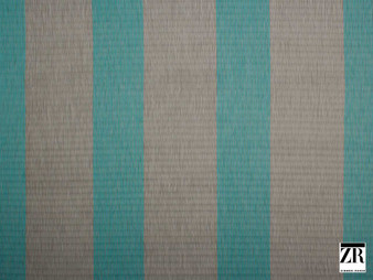 Zimmer and Rohde - Macy - 10628.695    Curtain Fabric - Blue, Green, Turquoise, Teal, Stripe, Traditional, Railroaded, Wide-Width