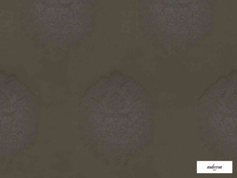 Ardecora - Castello - 15384.898  | Curtain Fabric - Brown, Damask, Fibre Blend, Standard Width