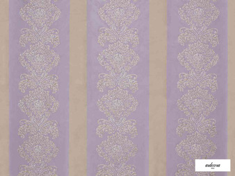 Ardecora - Galleria - 15386.485  | Curtain Fabric - Pink, Purple, Stripe, Damask, Rococo, Fibre Blend, Standard Width