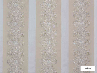 Ardecora - Galleria - 15386.884  | Curtain Fabric - Stripe, Damask, Rococo, Fibre Blend, Standard Width
