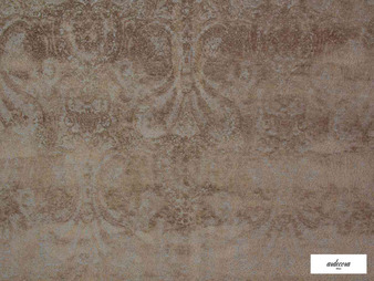 Ardecora - Novecento - 15383.886  | Upholstery Fabric - Brown, Traditional, Damask, Rococo, Fibre Blend, Standard Width