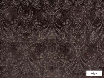 Ardecora - Novecento - 15383.888  | Upholstery Fabric - Brown, Traditional, Damask, Rococo, Fibre Blend, Standard Width