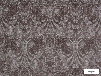 Ardecora - Novecento - 15383.997  | Upholstery Fabric - Brown, Traditional, Damask, Rococo, Fibre Blend, Standard Width