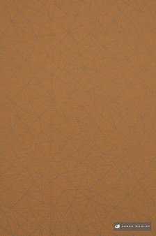 James Dunlop Prism II - Ochre  | Curtain Fabric - Fire Retardant, Eclectic, Geometric, Screencloth, Synthetic, Tan, Taupe, Washable, Commercial Use, Domestic Use, Dry Clean