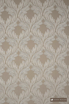 James Dunlop Provence - Sand  | Curtain Fabric - Art Noveau, Damask, Deco, Decorative, Eclectic, Natural Fibre, Ogee, Tan, Taupe, Traditional, Transitional, Domestic Use