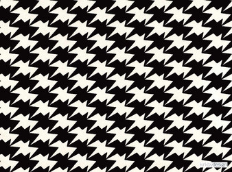 Kirkby Design - Zig Zag Birds Wallcovering Monochrome  | Wallpaper, Wallcovering - Black, Charcoal, Geometric, Check, Chevron, Zig Zag, Houndstooth
