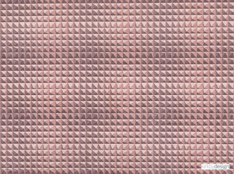 Kirkby Design - Domino Pyramid Powder  | Upholstery Fabric - Pink, Purple, Dry Clean, Geometric, Velvets, Small Scale, Fibre Blend, Standard Width