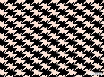 Kirkby Design - Zig Zag Birds Wallcovering Powder  | Wallpaper, Wallcovering - Black, Charcoal, Geometric, Check, Chevron, Zig Zag, Houndstooth