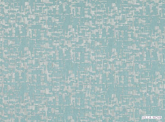 Villa Nova - Boyd Teal    Curtain Fabric - Washable, Blue, Turquoise, Teal, Wide-Width, Dry Clean, Trevira CS, Abstract, Fibre Blend