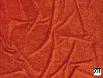 Zimmer and Rohde - Andro - 01927.317  | Upholstery Fabric - Orange, Plain, Fibre Blend, Standard Width