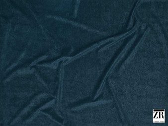 Zimmer and Rohde - Andro - 01927.559  | Upholstery Fabric - Blue, Plain, Fibre Blend, Standard Width