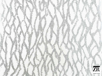 Zimmer and Rohde - Golden Rain - 2750018.993  | Wallpaper, Wallcovering - Grey, Silver, Mosaic, Organic, Paper Based