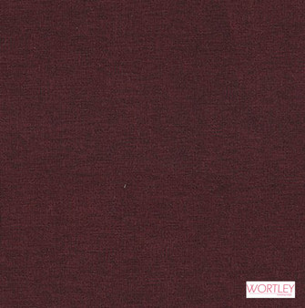 Wortley Group Spirit Ruby  | Upholstery Fabric - Brown, Plain, Synthetic, Commercial Use, Standard Width