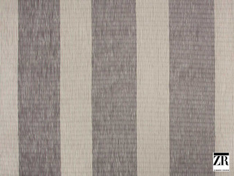 Zimmer and Rohde - Macy - 10628.485    Curtain Fabric - Brown, Stripe, Traditional, Railroaded, Wide-Width