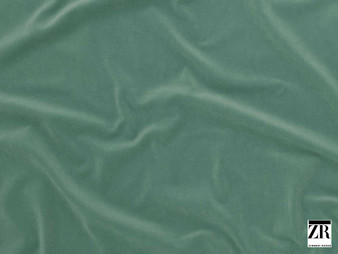 Zimmer and Rohde - Score - 10567.653  | Upholstery Fabric - Green, Plain, Standard Width