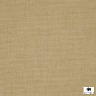 Chivasso - Cosmos - Ch2657 - 040  | Curtain & Upholstery fabric - Gold, Yellow, Wide-Width, Plain, Strie