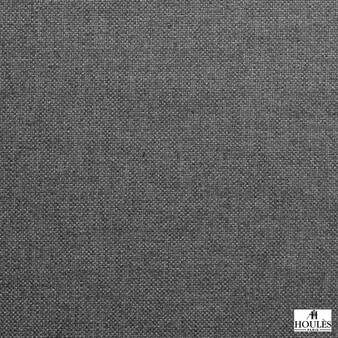 Houles - 72853 Alium Fabric - 9900  | Curtain & Upholstery fabric - Black, Charcoal, Wide-Width, Plain, Fibre Blend