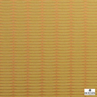 Houles - 72875 Ceylan Fabric - 9730  | Curtain & Upholstery fabric - Gold, Yellow, Contemporary, Standard Width