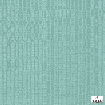Houles - 72894 Eolia - 9730  | Curtain Fabric - Turquoise, Teal, Contemporary, Fibre Blend, Standard Width