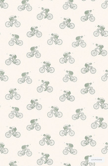 Linwood LW045 1 The Tour  | Wallpaper, Wallcovering - Blue, Children, Kids, Mid Century Modern