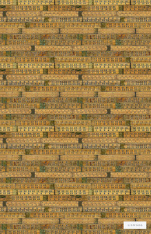 Linwood LW049 1 The Measure  | Wallpaper, Wallcovering - Midcentury, Tan, Taupe, Domestic Use, Print