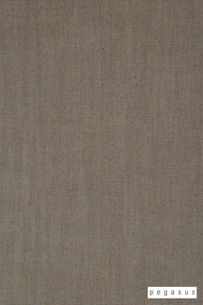 Pegasus Lusk - Ash  | Upholstery Fabric - Brown, Plain, Natural Fibre, Washable, Commercial Use, Dry Clean, Natural, Standard Width, Strie