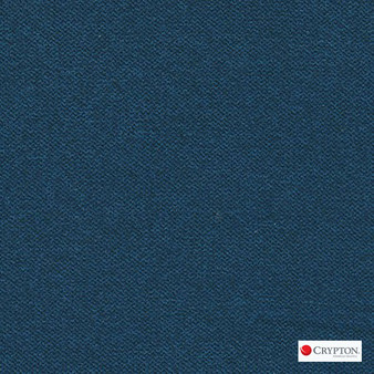 Crypton Prairie Navy  | Upholstery Fabric - Blue, Plain, Synthetic, Commercial Use, Standard Width