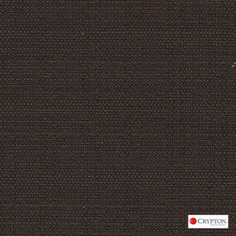 Crypton Savanna Espresso  | Upholstery Fabric - Brown, Plain, Synthetic, Commercial Use, Standard Width