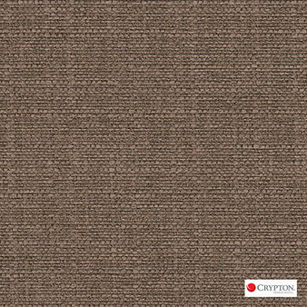 Crypton Sky Chestnut  | Upholstery Fabric - Brown, Plain, Synthetic, Commercial Use, Standard Width