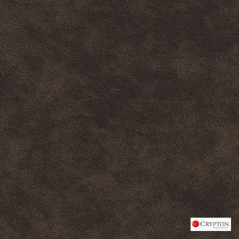 Crypton Suede Cocoa  | Upholstery Fabric - Brown, Plain, Synthetic, Commercial Use, Standard Width