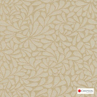 Crypton Twirl Oyster  | Upholstery Fabric - White, Craftsman, Floral, Garden, Linen and Linen Look, Pattern, Synthetic, Tan, Taupe, Commercial Use, White, Standard Width