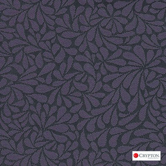 Crypton Twirl Pansy  | Upholstery Fabric - Craftsman, Floral, Garden, Pattern, Pink, Purple, Synthetic, Commercial Use, Standard Width