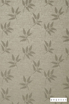Pegasus Leaf Fall - Putty  | Curtain Fabric - Deco, Decorative, Floral, Garden, Midcentury, Natural Fibre, Tan, Taupe, Transitional, Washable, Domestic Use, Dry Clean