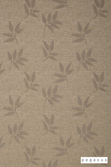 Pegasus Leaf Fall - Taupe  | Curtain Fabric - Brown, Deco, Decorative, Floral, Garden, Midcentury, Natural Fibre, Transitional, Washable, Domestic Use, Dry Clean, Natural