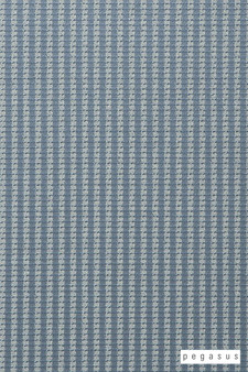 Pegasus Trace - Spray  | Curtain Fabric - Blue, Natural Fibre, Stripe, Traditional, Washable, Domestic Use, Dry Clean, Natural, Top of Bed, Standard Width