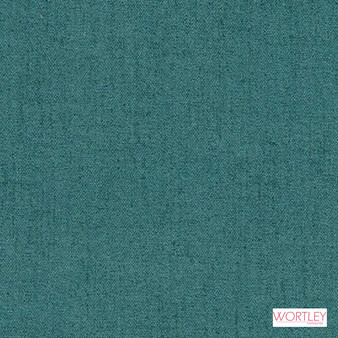 Wortley Group Cashmere Peacock  | Upholstery Fabric - Plain, Synthetic, Commercial Use, Standard Width