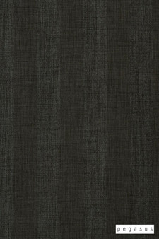Pegasus Tasman UC - Graphite  | Curtain Fabric - Fire Retardant, Black - Charcoal, Fibre Blends, Stripe, Traditional, Washable, Domestic Use, Dry Clean, Standard Width