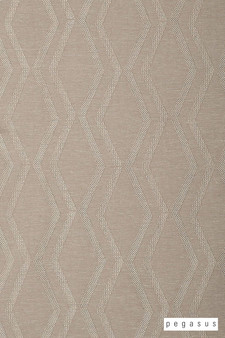 Pegasus Arris - Linen  | Curtain Fabric - Brown, Geometric, Midcentury, Natural Fibre, Transitional, Washable, Chevron, Zig Zag, Domestic Use, Dry Clean, Natural