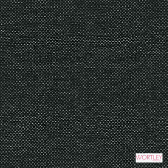 Wortley Group Oslo Pepper  | Upholstery Fabric - Black, Charcoal, Plain, Standard Width