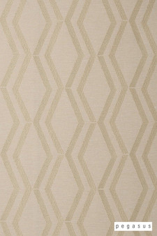 Pegasus Arris - Silken  | Curtain Fabric - White, Geometric, Midcentury, Natural Fibre, Transitional, Washable, Chevron, Zig Zag, Domestic Use, Dry Clean, Natural, White
