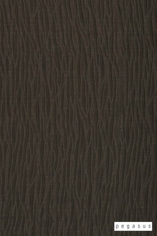 Pegasus Sandrift - Leather  | Curtain Fabric - Brown, Fibre Blends, Domestic Use, Dry Clean, Wide Width, Strie
