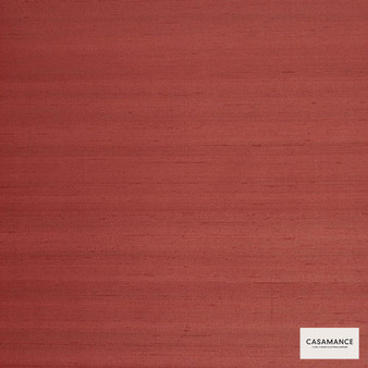 Casamance Fabrics & Wallpapers - Sakura W/P Ume Collection 941... 941 09 03  | Wallpaper, Wallcovering - Plain, Red, Fibre Blends, Commercial Use, Standard Width