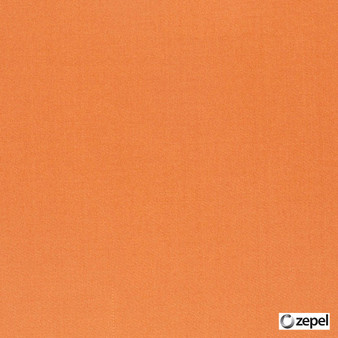 Zepel Fabrics - Sateen 137 Persimmon  | Curtain & Upholstery fabric - Plain, Fibre Blends, Commercial Use, Domestic Use, Oeko-Tex,  Standard Width